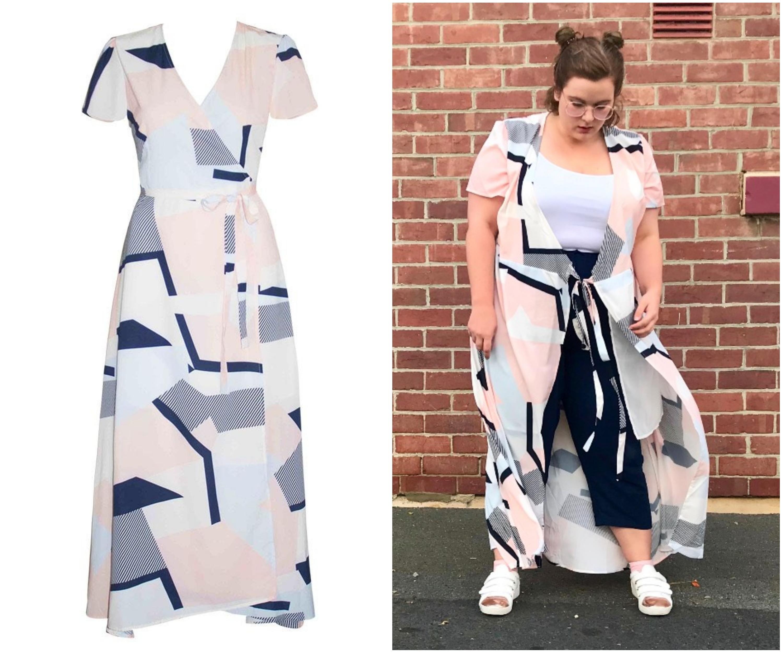 Fiesta Wrap Dress - Size 18.jpg