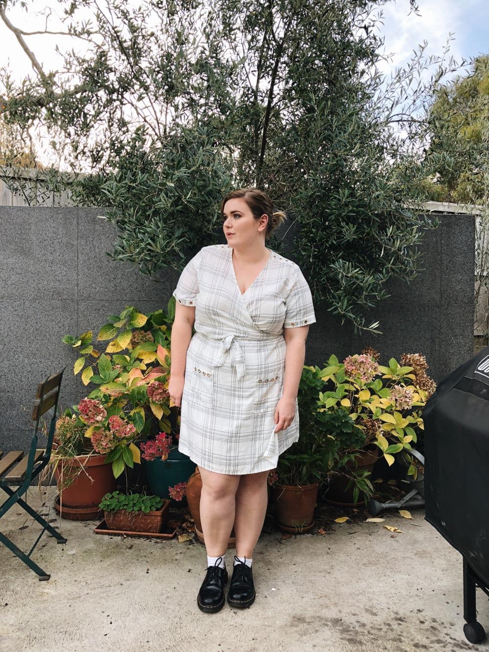 Haven Wrap Dress - Size 22 - 1.JPG