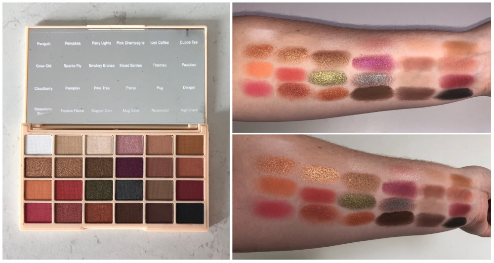 Soph X Palette and Swatches