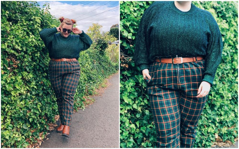 grid pants